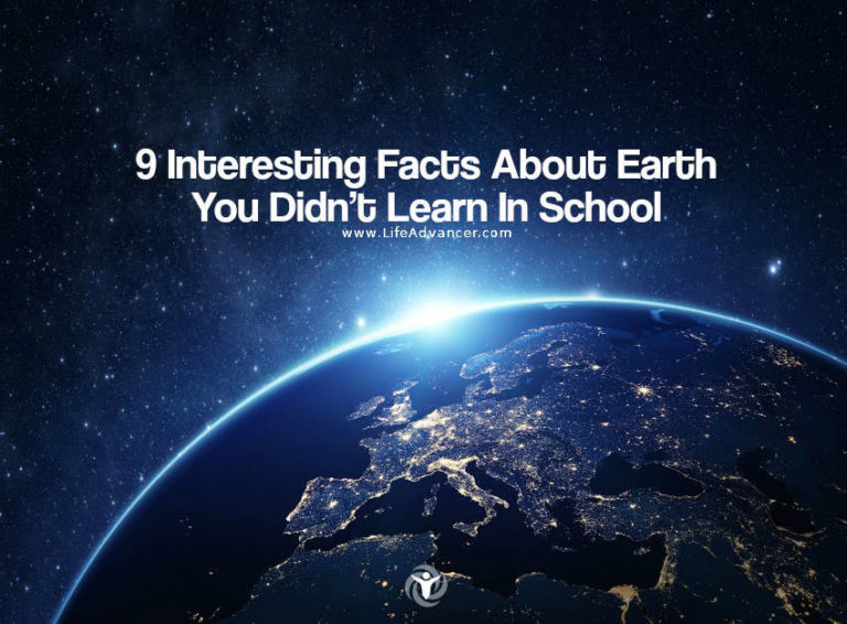 9 Interesting Facts about Earth You Didn't Learn in School