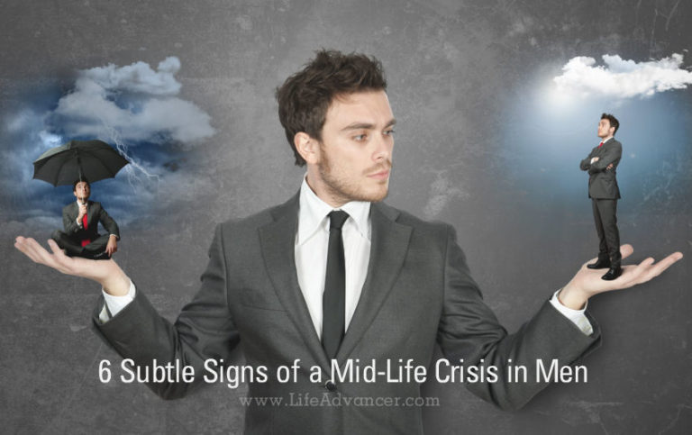 6 Subtle Signs of a Mid-Life Crisis in Men (and How to Help Them)