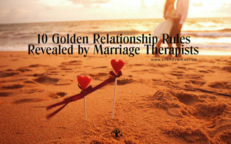 10 Golden Relationship Rules Revealed by Marriage Therapists