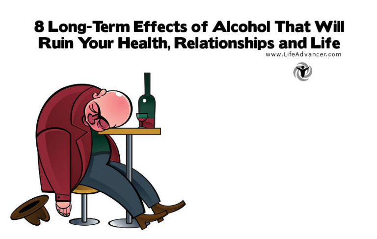 Long-Term Effects of Alcohol on Health, Relationships & Life