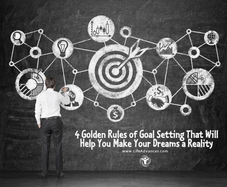 4 Golden Rules of Goal Setting That Will Help You Make Your Dreams a Reality