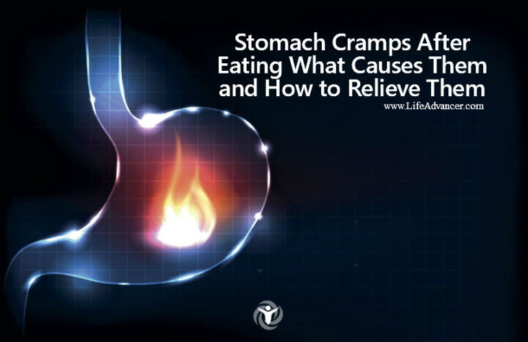 Stomach Cramps After Eating: What Causes Them and How to Relieve Them