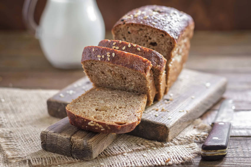 1. Whole wheat brown bread
