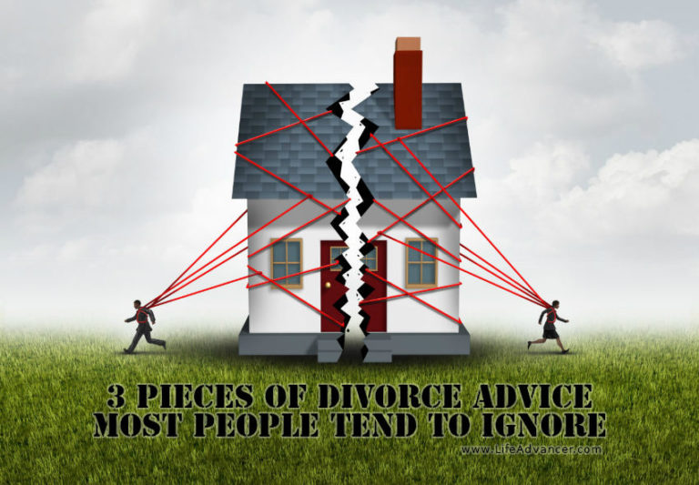 3 Pieces of Divorce Advice Most People Tend to Ignore