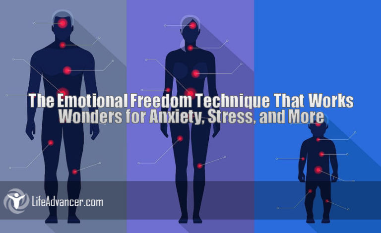 The Emotional Freedom Technique That Works Wonders for Anxiety, Stress and More