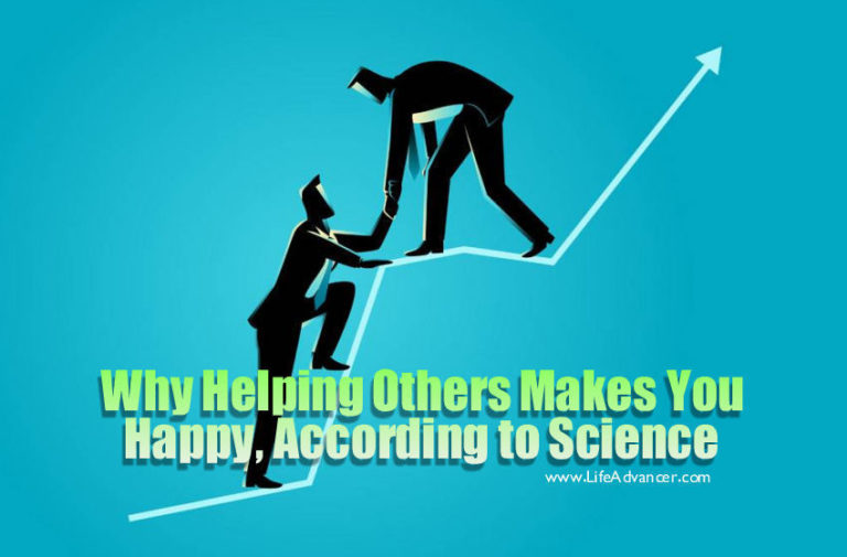 Why Helping Others Makes You Happy, According to Science