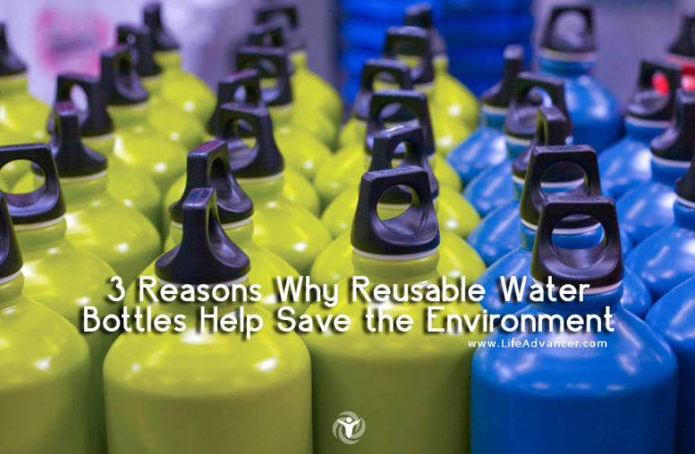 3 Reasons Why Reusable Water Bottles Help Save the Environment