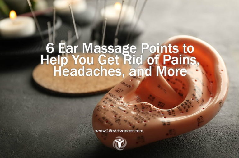 6 Ear Massage Points to Get Rid of Pains, Headaches and More