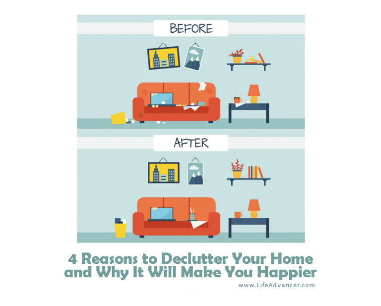 4 Reasons to Declutter Your Home and Why It Will Make You Happier