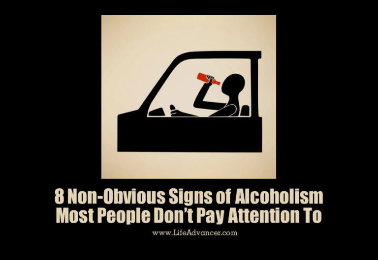 8 Non-Obvious Signs of Alcoholism Most People Don't Pay Attention to