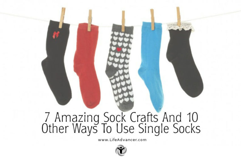 7 Amazing Sock Crafts and 10 Other Ways to Use Single Socks