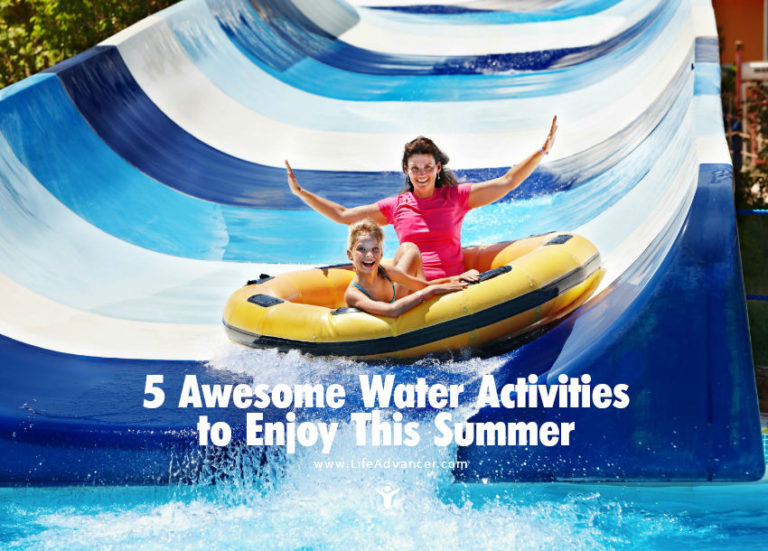 5 Awesome Water Activities to Enjoy with Your Family in Summer