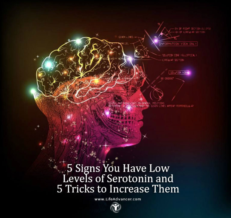 5 Signs You Have Low Levels of Serotonin & 5 Tricks to Increase Them
