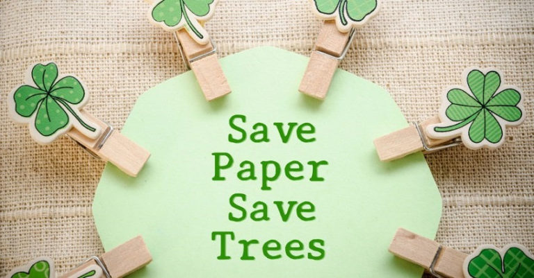 How to Save Trees by Using Less Paper with These 11 Simple Actions