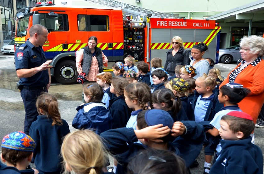 Introducing fire safety tips to children