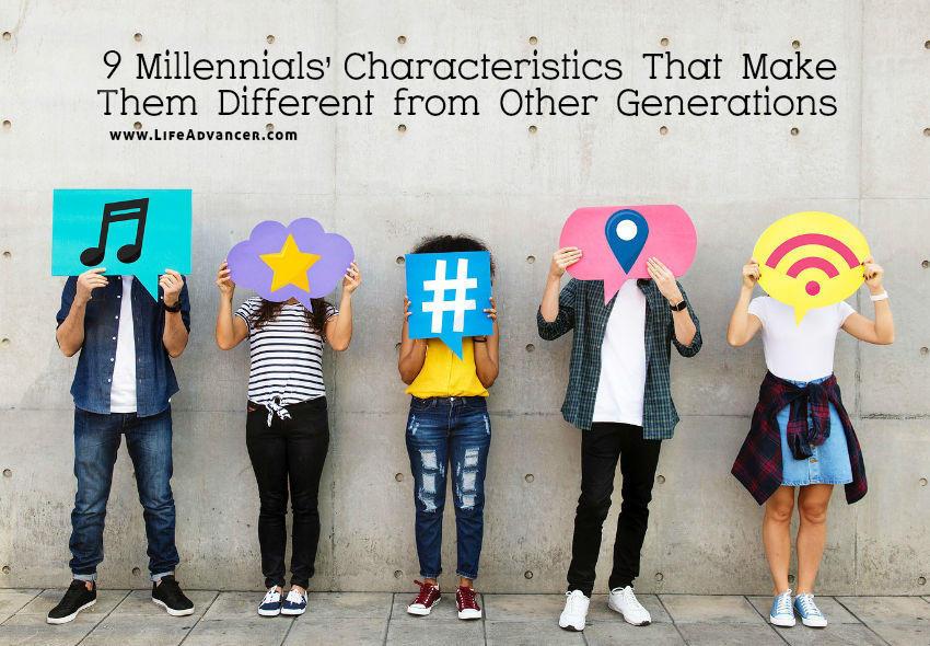 Millennial traits different generation