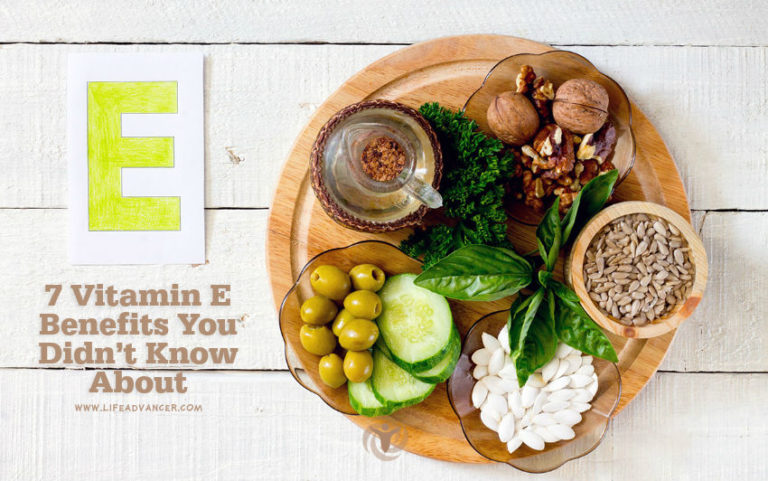 7 Vitamin E Benefits You Probably Didn't Know about