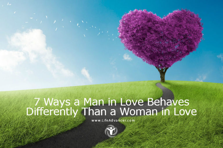 7 Ways a Man in Love Behaves Differently Than a Woman in Love