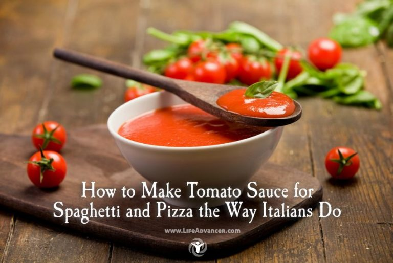 How to Make Tomato Sauce for Spaghetti and Pizza the Way Italians Do