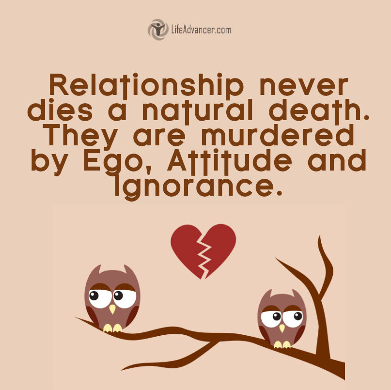542-A relationship never dies a natural death