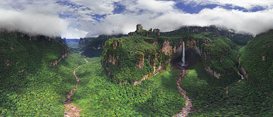 Churun Meru Angel Falls Venezuela