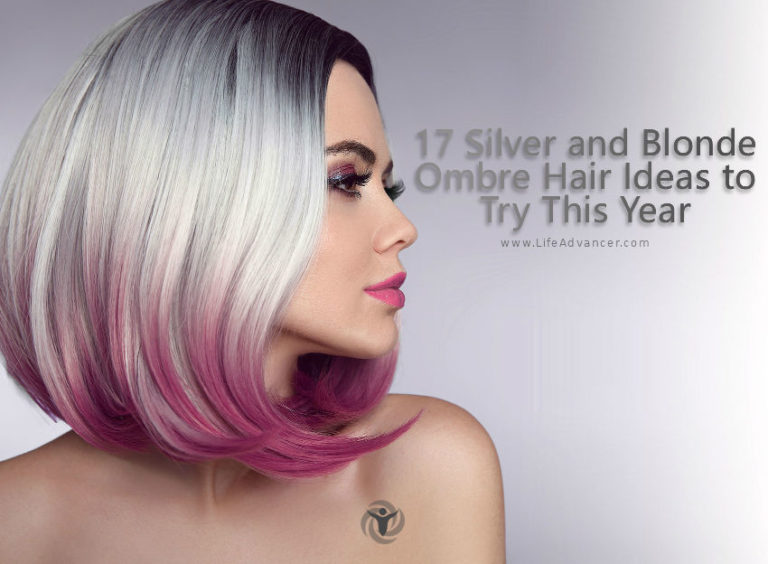 17 Silver and Blonde Ombre Hair Ideas to Try This Year
