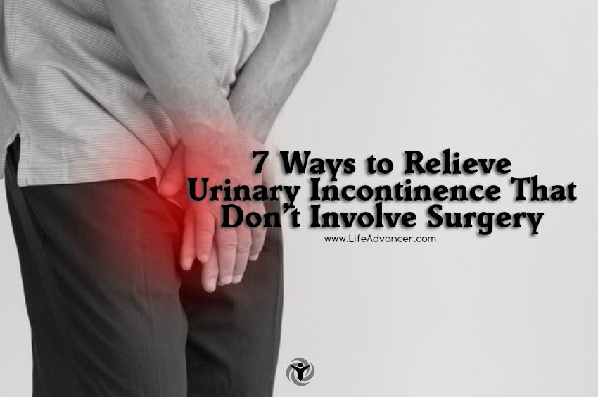 Ways to Relieve Urinary Incontinence