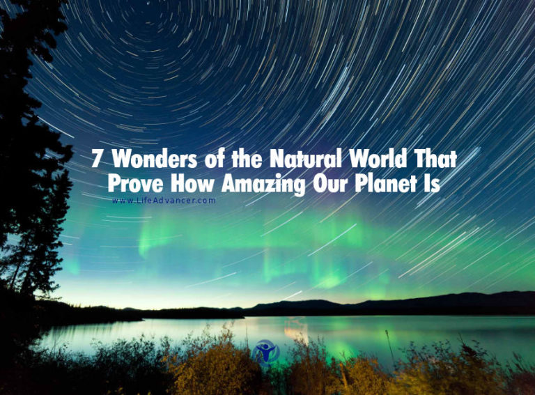 7 Wonders of the Natural World That Prove How Amazing Our Planet Is