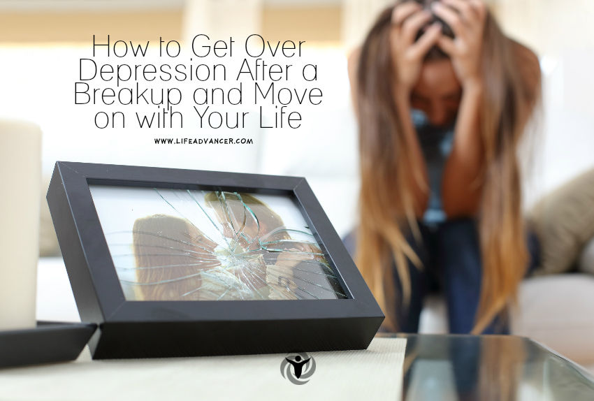 Get Over Depression After a Breakup