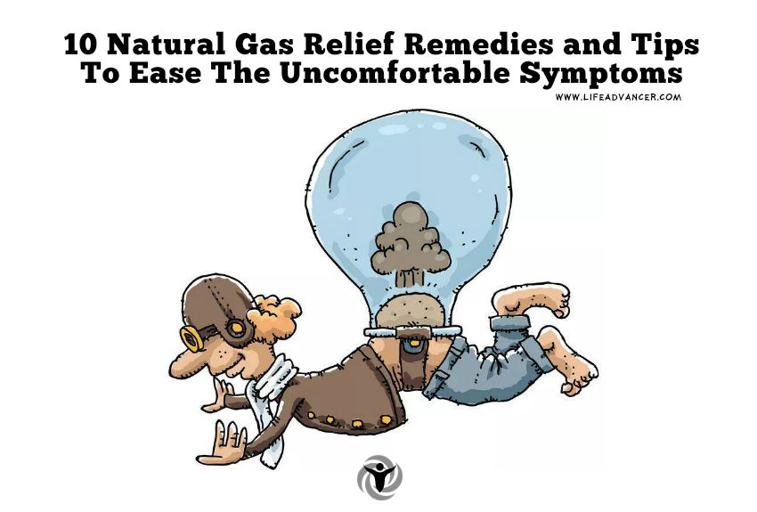 Natural Gas Relief Remedies and Tips