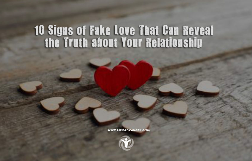 Signs of Fake Love