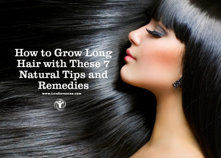 How to Grow Long Hair with These 7 Natural Tips and Remedies