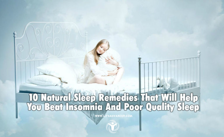 10 Natural Sleep Remedies That Will Help You Beat Poor Quality Sleep