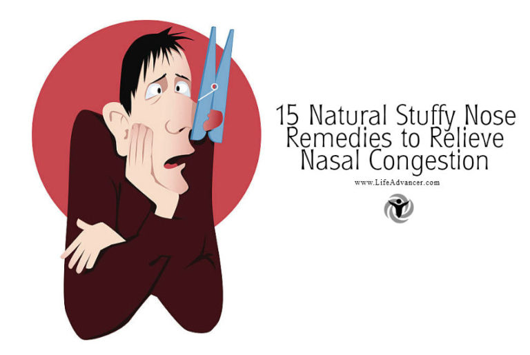 15 Natural Stuffy Nose Remedies to Relieve Nasal Congestion