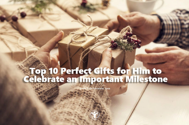 Top 10 Perfect Gifts for Him to Celebrate an Important Milestone