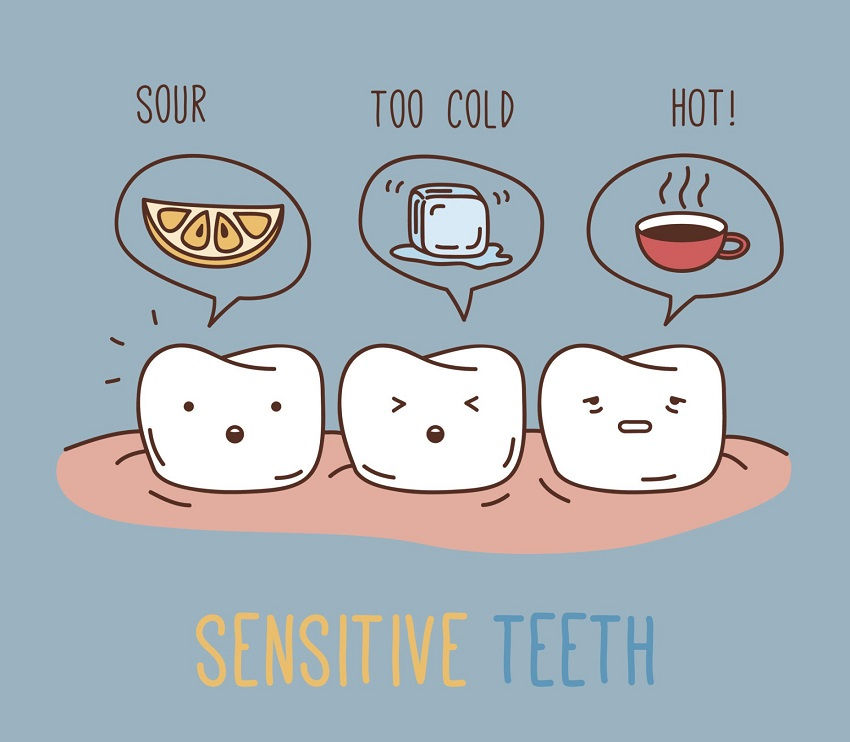 teeth sensitive to cold
