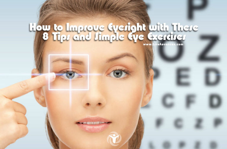 How to Improve Eyesight with These 8 Tips and Simple Eye Exercises