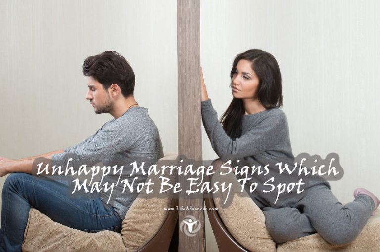 Unhappy Marriage Signs Which May Not Be Easy To Spot