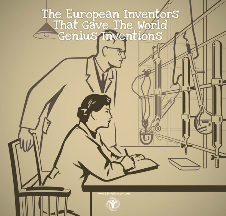 23 European Inventors That Gave the World Genius Inventions