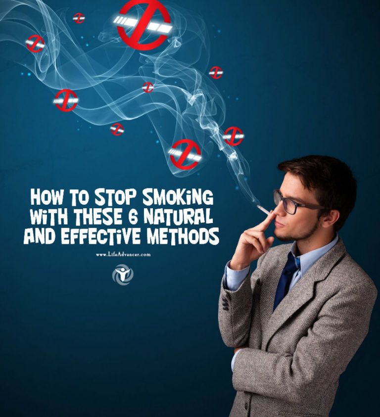 How to Stop Smoking with These 6 Natural and Effective Methods
