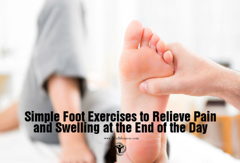 Simple Foot Exercises to Relieve Pain and Swelling at the End of the Day