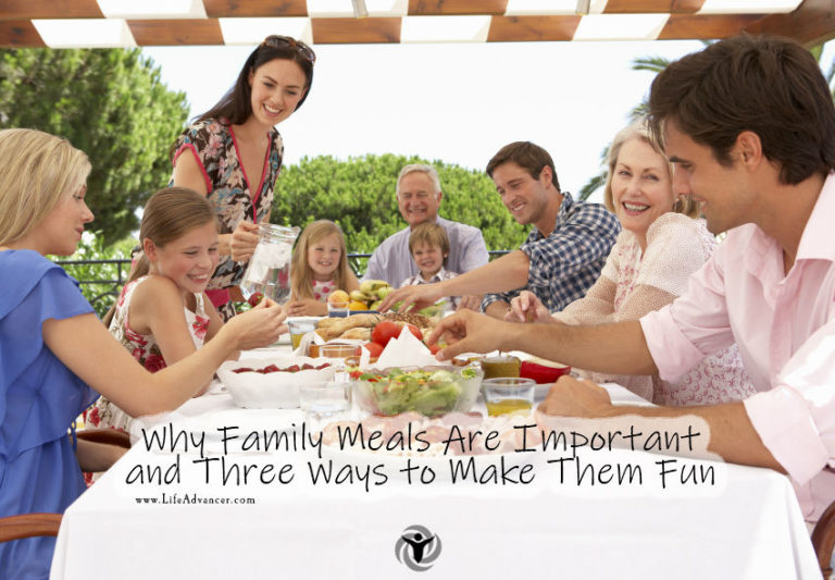 Why Family Meals Are Important and Three Ways to Make Them Fun