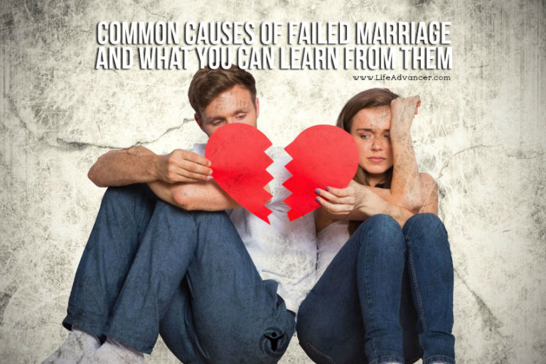 5 Common Causes of Failed Marriage and How You Can Avoid It