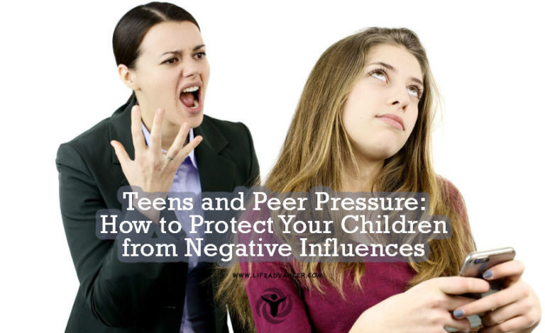 Teens and Peer Pressure: How to Protect Your Child from Bad Influences