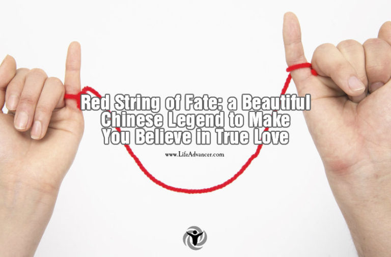 Red String of Fate: a Beautiful Chinese Legend about True Love