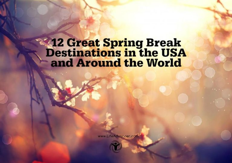 Read more about the article 12 Great Spring Break Destinations in the USA and Beyond