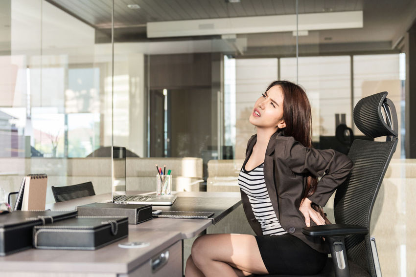 Desk Exercises You Can Perform While At Work