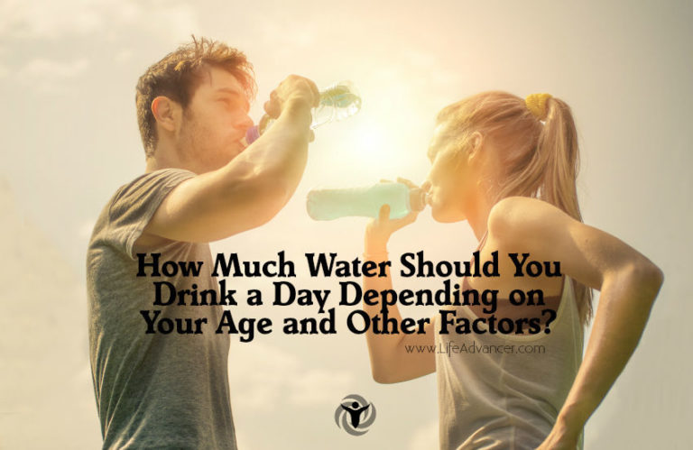 How Much Water Should You Drink a Day for Your Age & Weight?