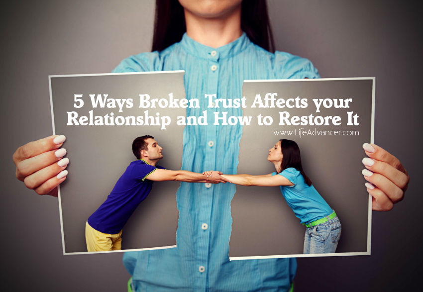 Ways Broken Trust Affects Relationship