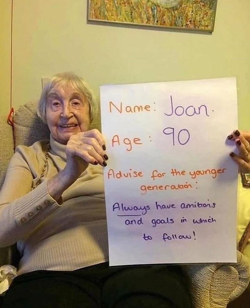Joan, 90